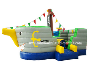 RB11007(3x6x3m)Inflatable New Arrival Pirate Boat