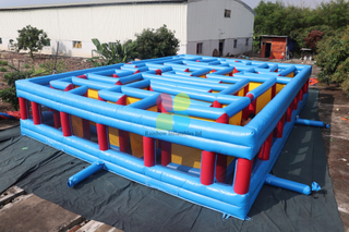 Commercial Outdoor Inflatable Maze Laser Tag Inflatable Laser Maze For Sale