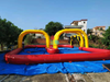 Outdoor Game Inflatable Sport Game Racing Track For Go Cart For Zorb Ball