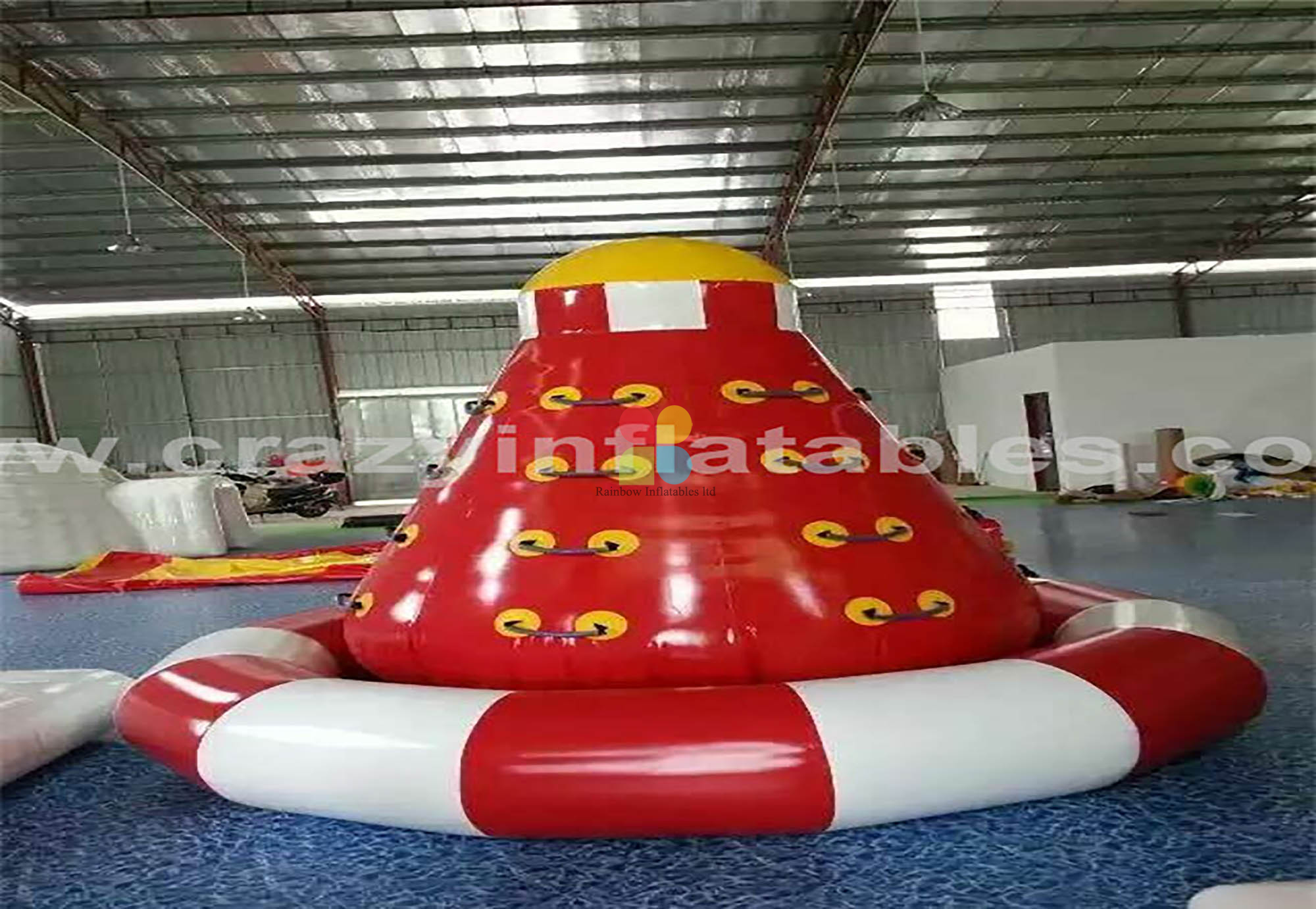 RB31014(3x3x3.5m)Inflatable climbing floating island