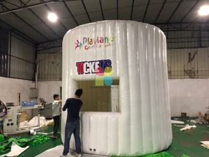 Inflatable Ticket Booth Tent