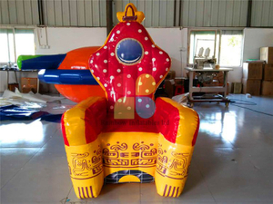 RB20006-1(1.5m)Inflatable king throne chair hot sale
