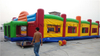 RB9047(20x10x4.3m)Inflatable giant basketball court game