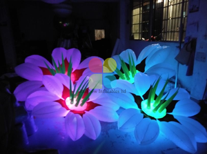 Festival Inflatable Decoration LED Flower for Advertising