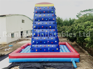 Hot Sale Commercial Inflatable Rock Climbing Wall Climbing Game for Kids And Adults
