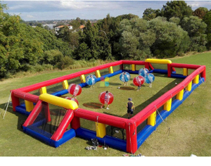 Football Club Inflatable Soccer Field