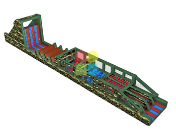 Inflatable Tunnel Obstacle Course Rental Inflatable Obstacle Course 5k