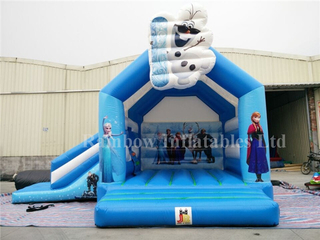 Outdoor Commercial Inflatable Frozen Jumping Castle