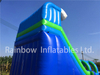 Outdoor Commercial Wave Theme Inflatable Water Slide for Adults