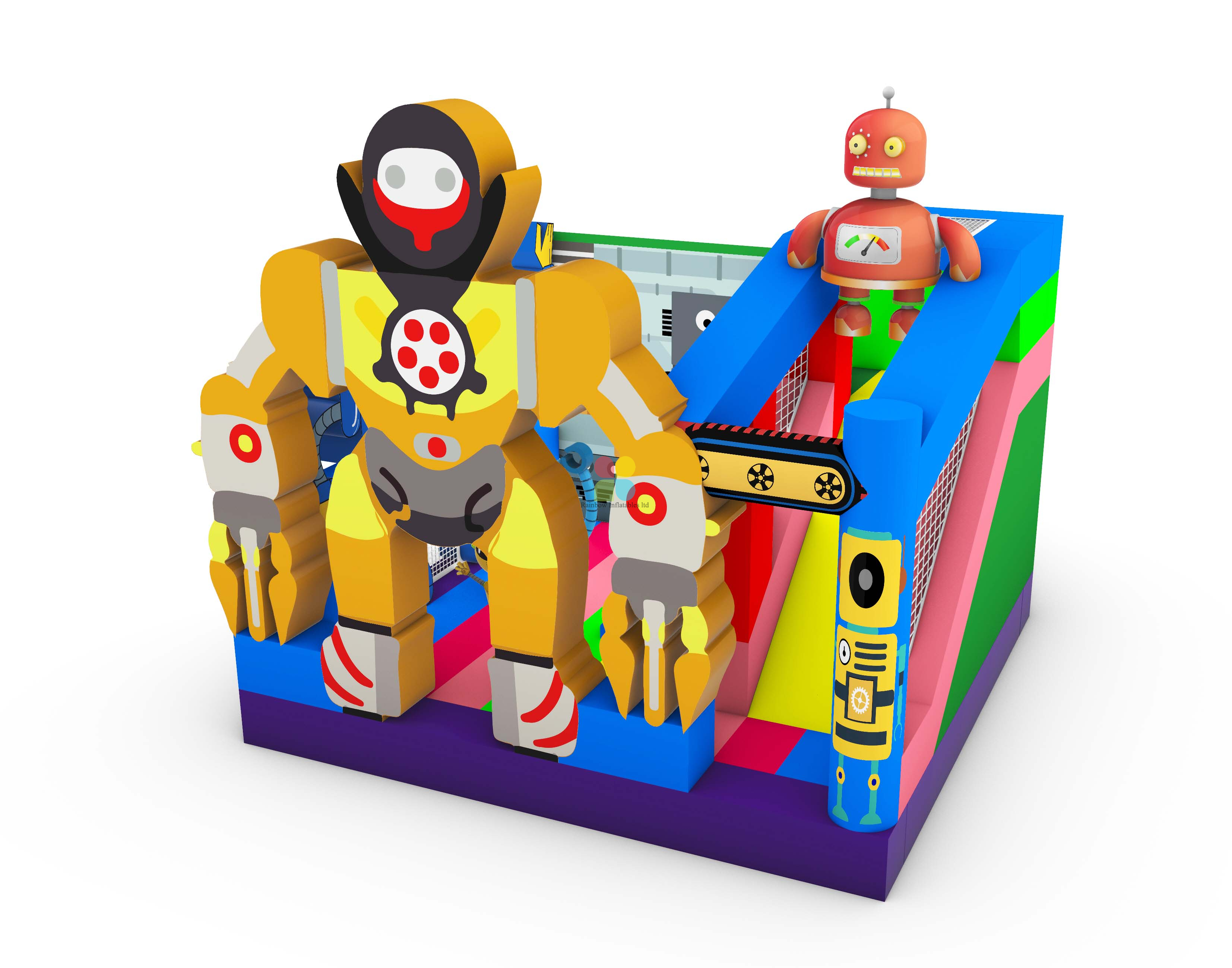 Robot Factory Inflatable Kids