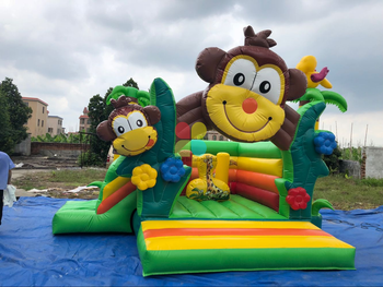 Inflatable Jungle Monkey Combo