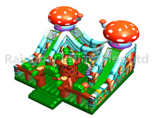 RB04135 (8x8x5m) Inflatable Mushroom forest playground/funcity new design