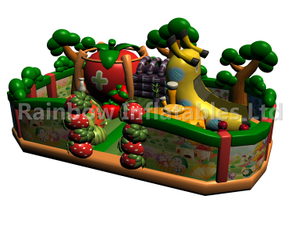RB04129 (10x7m) Inflatable Fruit theme playground/funcity new design