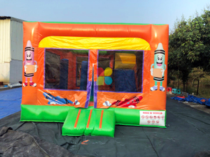 Customized Inflatable Crayon Jumping With