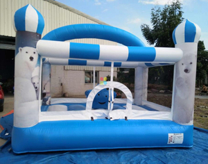 Winter Theme Inflatable Bounce House