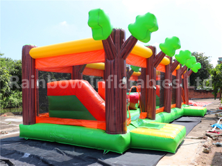 Large Indoor Sport Game Inflatable Obstacle Course Running Game for Kids