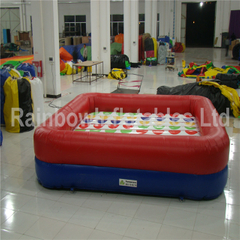 Popular Commercial Inflatable Interactive Game Twister Game for Kids And Adults