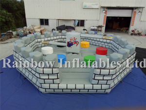 RB9124-3(7x7m)Inflatable Meltdown Wipe Games Inflatable Meltdown Games