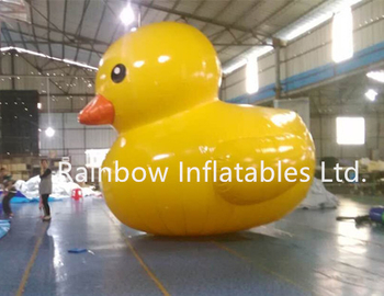 RB25009(5mh)Inflatable Yellow Duck Model for Commercial Used or Party Used