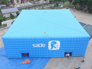 Huge Commercial Inflatable Cube Tent Advertising Tent for Events