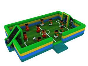 New Design Large Indoor Inflatable Football Game Soccer Game for Kids
