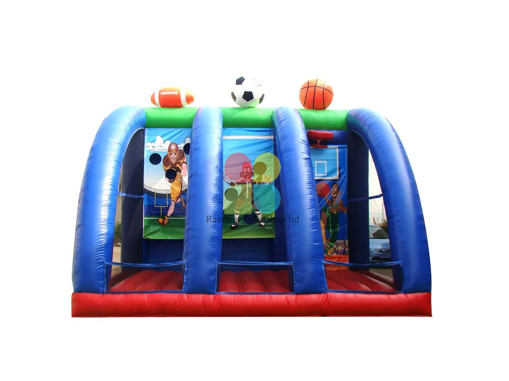 Carnival Multiplay Shooting Game Inflatable Shooting Door