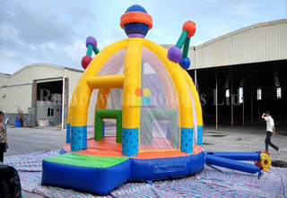 Inflatable multifunctional sports game