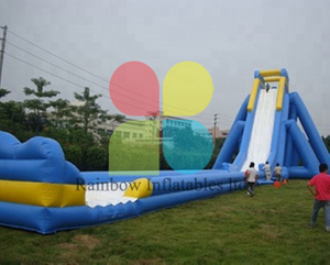 China Beach Inflatable Hippo Water Slide Manufacturer, Giant Inflatable Water Slide Supplier