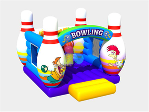 RB01037(4x5m) Inflatable Funny style bowling bouncer on sale