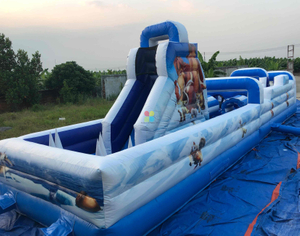 Inflatable ICE AGE Theme Obstacle for Kids