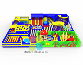 The Lastest High Quality Inflatable Outdoor Playground Giant Theme Park for Sale