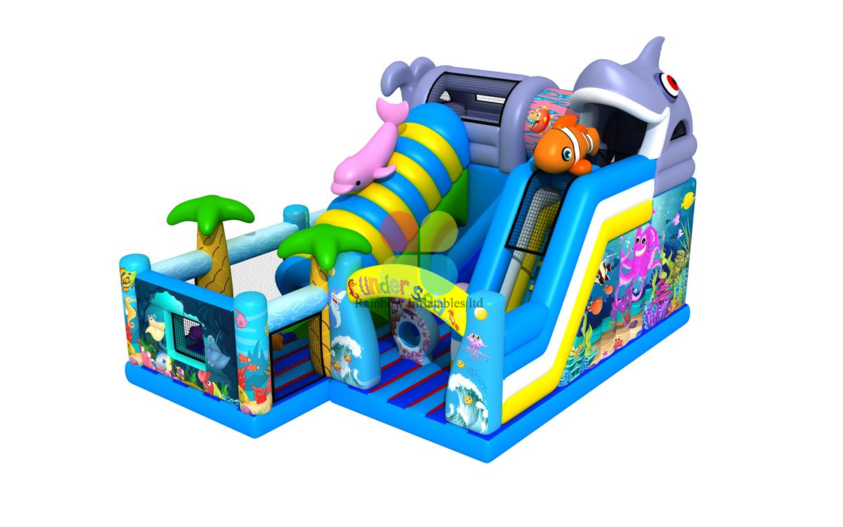 Rainbow New Design of Dolphin Undersea World Playground