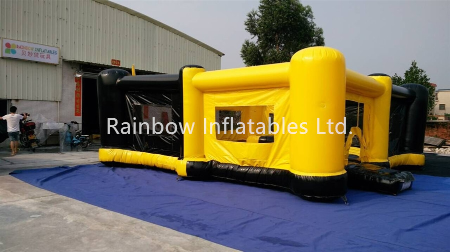 RB9122(8.6x8.3x2.5m) Inflatable Bungee Basket Ball Game