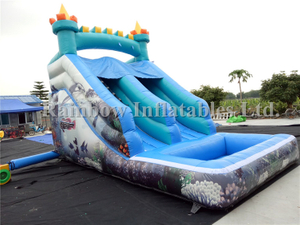 Best Outdoor Inflatable Water Slide with Pool for Toddlers