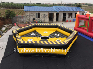 RB91013(dia 7m) Inflatable Wipeout Game Matrress mechanical bull