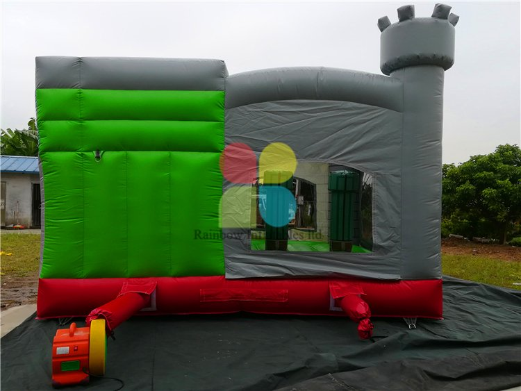 Outdoor Commercial Inflatable Super Mario Castle for Kids