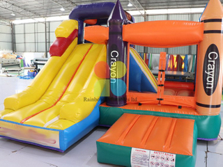 Outdoor Commercial 2 in 1 Inflatable Combo for Kids