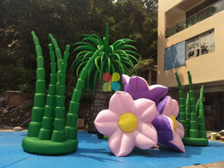 New Design Giant Outdoor Garden Decoration Inflatable Flower Inflatable Yard Flower for Sale