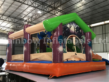 Mini Indoor Giraffe Theme Inflatable Combo for Party
