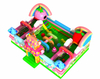 China New Design of Sweet Candy Theme Bounce House Inflatable 3D Fruit Fun Park
