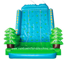 RB13005(5.5x4.3x6.3m)Inflatable climbing wall tower/ inflatable climbing rock mountain