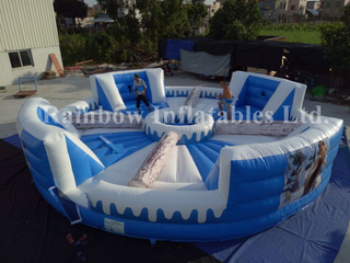 RB91019(9.2x9.2m)Inflatable sport game hungry hippos hot design