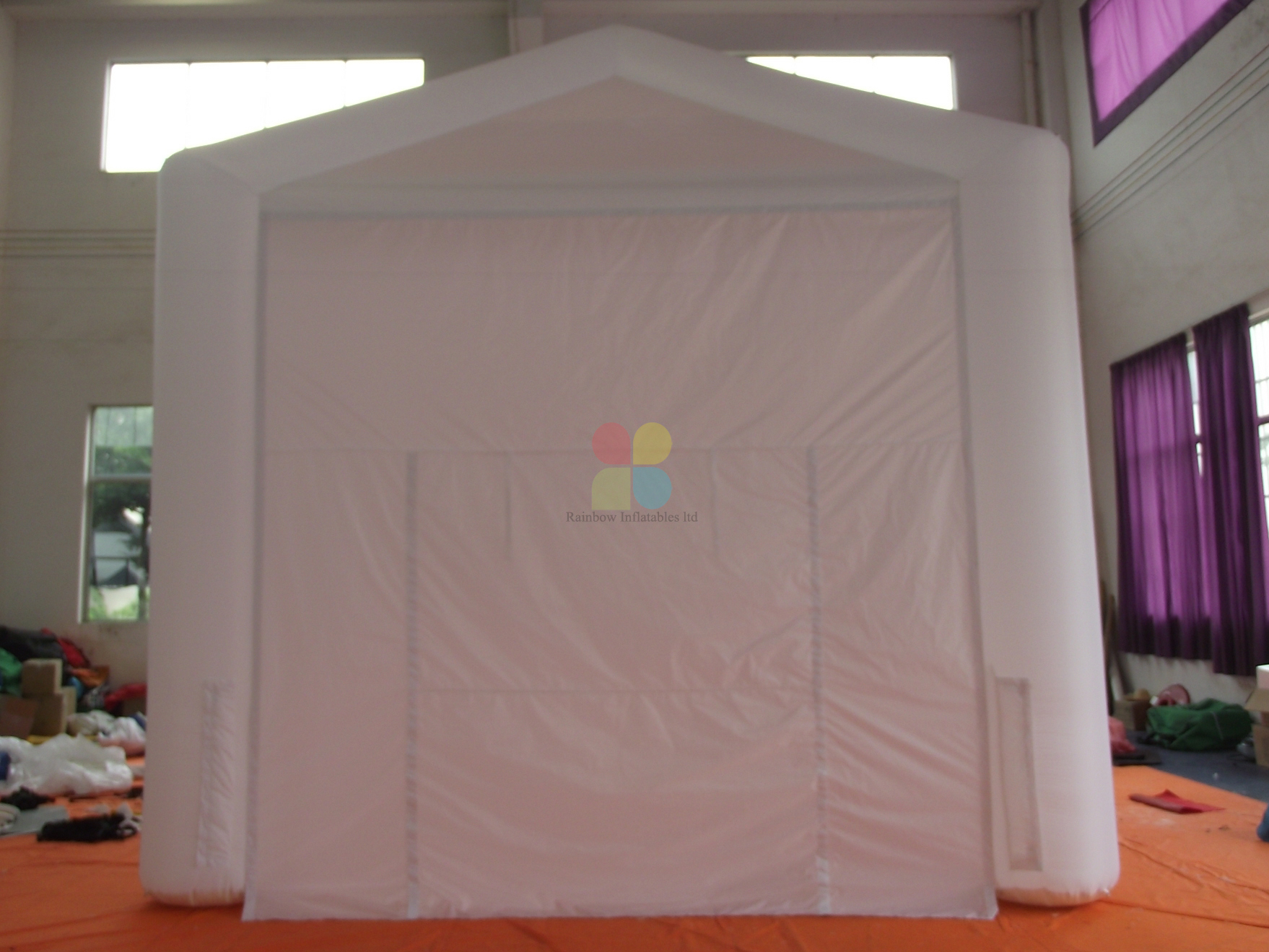 Outdoor Commercial Inflatable Cube Trade Show Tent for Sale