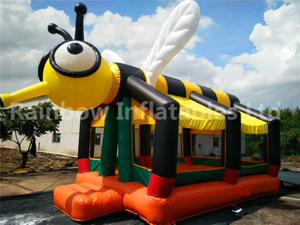 Outdoor Large Commercial Bee Inflatable Bouncers for Children