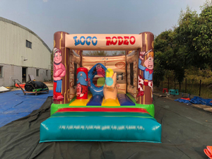 Loco Rodeo Inflatable Obstacle Bouncy Game