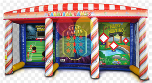 Backyard Carnival Inflatable Game, Unisex Commercial Use Sports Game