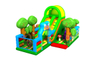 Inflatable Jungle Animals Palm Tree Playground