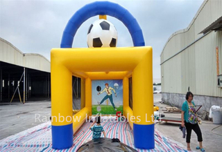 RB9026(6.5x3.5x4.3m)Inflatable goal football toss game