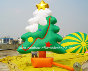 RB20011(4-6m) Inflatable rainbow christmas tree for sale