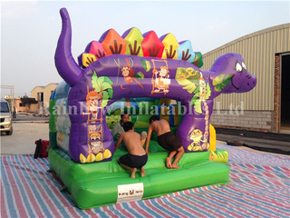 Mini Indoor Inflatable Dinosaur Bouncers for Kid